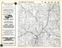 Christiana T14N-R4W, Vernon County 1960